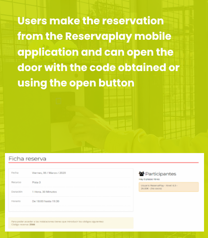 Reserve with mobile with ReservaPlay | ReservaPlay