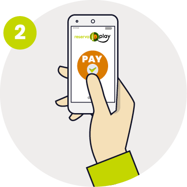 Pay for a court with ReservaPlay | ReservaPlay